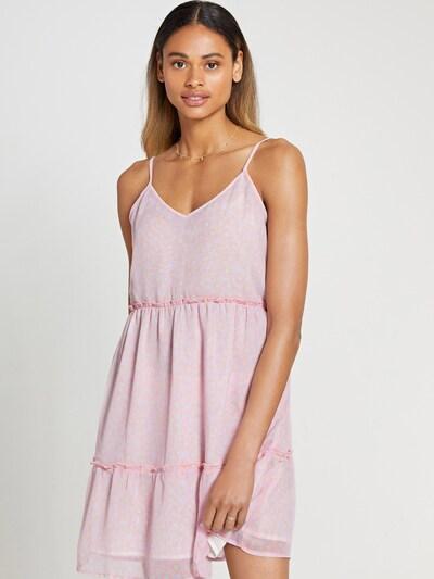 Shiwi Kleid 'JAMAICA' in mint / lila / rosa, Modelansicht