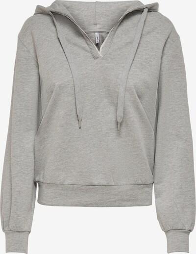 ONLY Sweatshirt 'Katie' in graumeliert, Produktansicht
