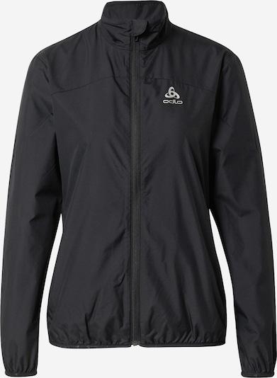 ODLO Sporta jaka, krāsa - pelēks / melns, Preces skats