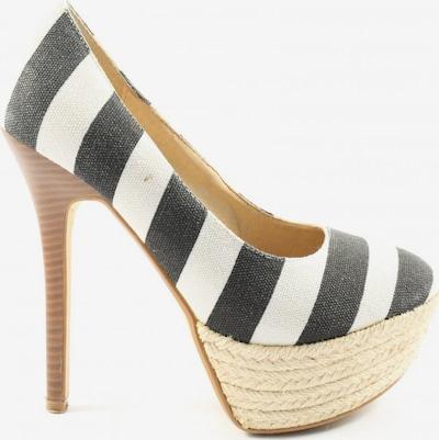 JUMEX High Heels in 35 in schwarz / weiß, Produktansicht