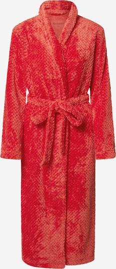 SCHIESSER Robe de chambre en rouge, Vue avec produit