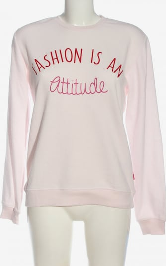 Stitch & Soul Sweatshirt in S in pink / rot / wollweiß, Produktansicht