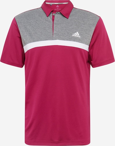 adidas Golf Functional shirt in Grey / Wine red, Item view