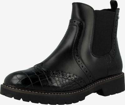 s.Oliver Chelsea Boots en noir, Vue avec produit