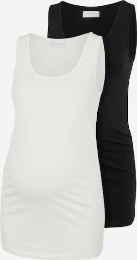MAMALICIOUS Top 'Lea' in schwarz / weiß, Produktansicht