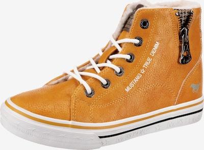 MUSTANG Sneaker in orange, Produktansicht