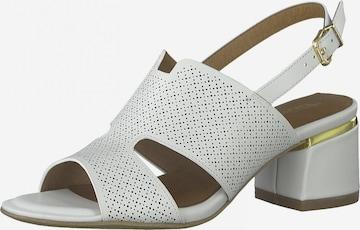 Sandales TAMARIS en blanc