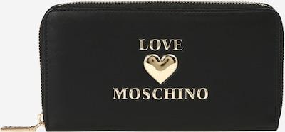 Love Moschino Naudas maks, krāsa - Zelts / melns, Preces skats