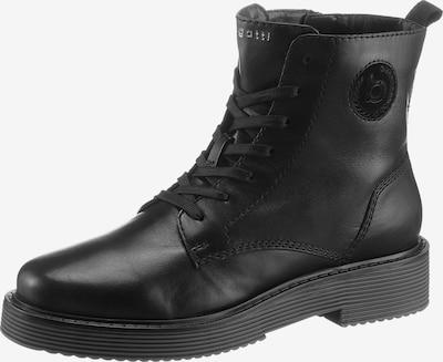 bugatti Schnürstiefelette in schwarz, Produktansicht