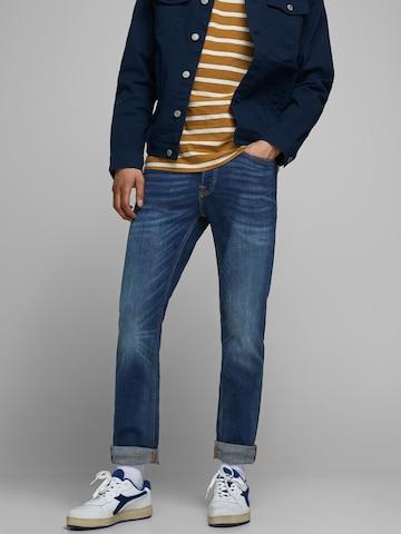 JACK & JONES Jeans 'Tim' in Blau