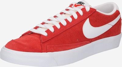 Nike Sportswear Baskets basses en rouge / blanc, Vue avec produit