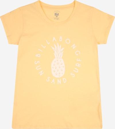 BILLABONG T-Shirt fonctionnel en pêche / blanc, Vue avec produit