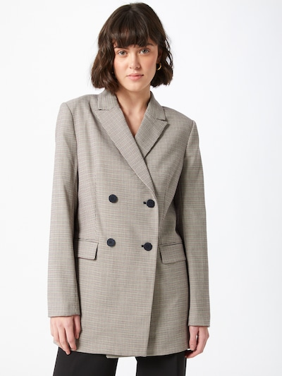 Švarkas iš DKNY , spalva - smėlio / mišrios spalvos, Modelio vaizdas