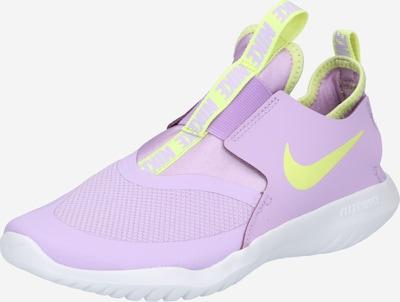 NIKE Sportschuh 'Flex Runner' in neongelb / mauve, Produktansicht