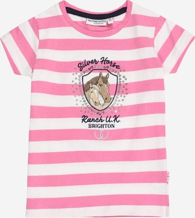 SALT AND PEPPER Shirt in Light brown / Dark pink / Black / Silver / White, Item view