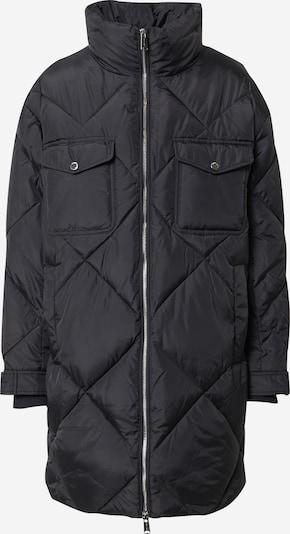 Tommy Jeans Tussenmantel 'Diamond' in de kleur Zwart, Productweergave