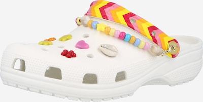 Šlepetės iš Crocs, spalva – mišrios spalvos / balta, Prekių apžvalga