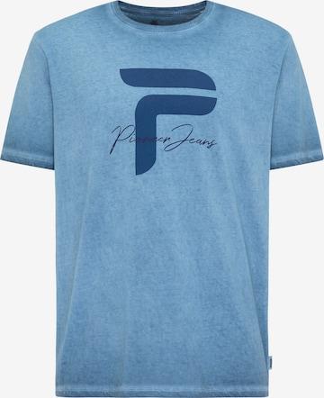 PIONEER T-Shirt in Blau