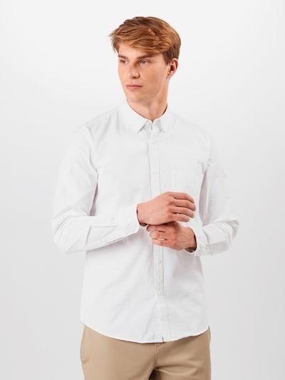 EDC BY ESPRIT Skjorte i hvid: Frontvisning