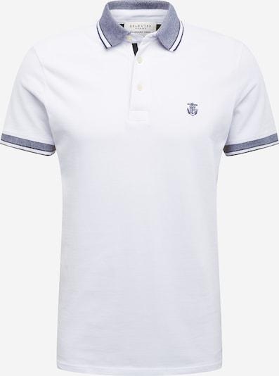 SELECTED HOMME Poloshirt in weiß, Produktansicht