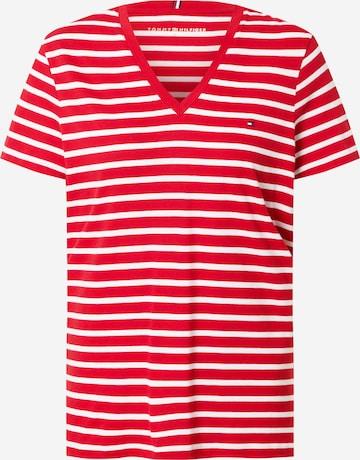 Maglietta di TOMMY HILFIGER in rosso