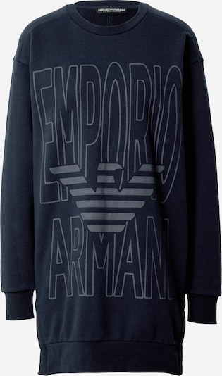 Emporio Armani Sweatshirt 'VISIBILITY' in kobaltblau / grau, Produktansicht