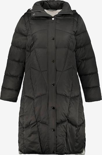 Palton de primăvară-toamnă Ulla Popken pe negru, Vizualizare produs