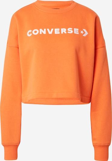 CONVERSE Sweatshirt i orange / vit, Produktvy
