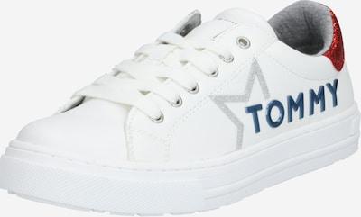 TOMMY HILFIGER Sneaker in blau / rot / weiß: Frontalansicht