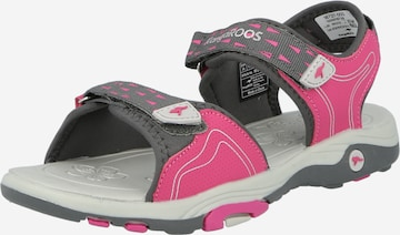 KangaROOS Sandale  'Blonde' in Pink