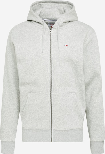 Tommy Jeans Sweatjacka i ljusgrå, Produktvy