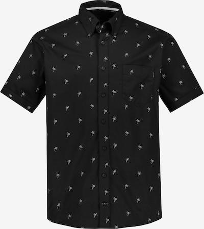 Ulla Popken Overhemd in de kleur Zwart / Wit, Productweergave