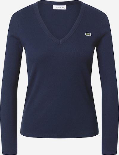 LACOSTE Majica u mornarsko plava / zelena / bijela, Pregled proizvoda