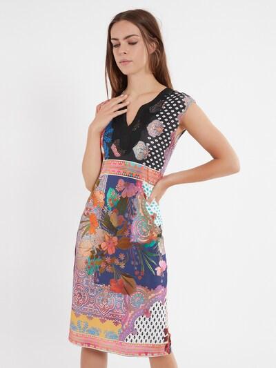 Ana Alcazar Etuikleid ' Ziome ' in mischfarben, Modelansicht