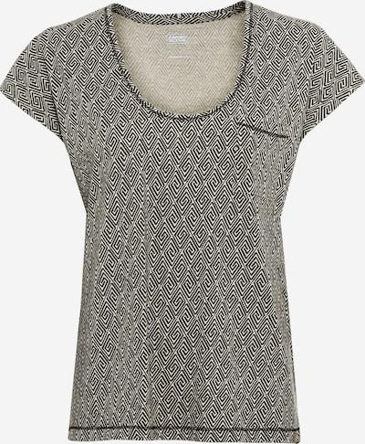 CAMEL ACTIVE T-Shirt in beige / dunkelgrau, Produktansicht