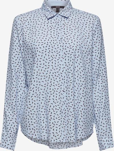 Esprit Collection Blouse in de kleur Blauw / Pastelroze / Zwart / Wit, Productweergave