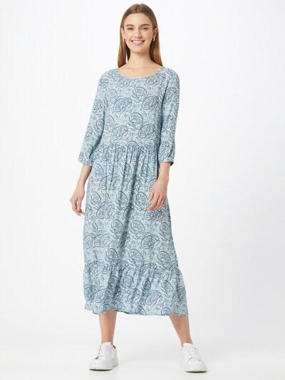 Soyaconcept Kleid 'ODELIA' in hellblau / dunkelblau, Modelansicht