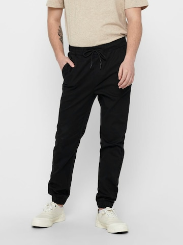 Only & Sons Trousers in Black