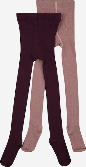 NAME IT Strumpfhose 'FROYA' in mauve / beere, Produktansicht
