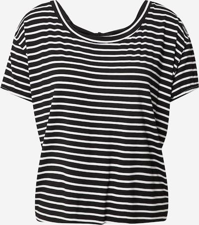 Tricou Molly BRACKEN pe negru / alb murdar, Vizualizare produs
