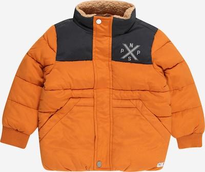 Noppies Jacke 'Bulan' in nachtblau / grau / orange, Produktansicht