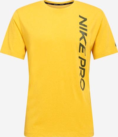 NIKE Sportshirt in gelb / schwarz, Produktansicht