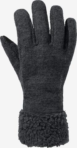 VAUDE Full Finger Gloves 'Tinshan IV' in Grey