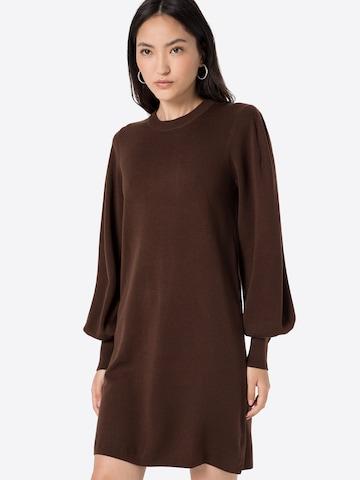 InWear Gebreide jurk 'Sammy' in Bruin