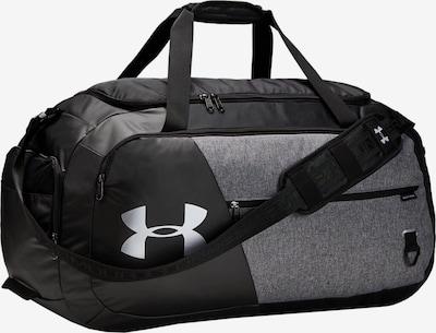 UNDER ARMOUR Sporttas in de kleur Donkergrijs / Zwart / Wit, Productweergave