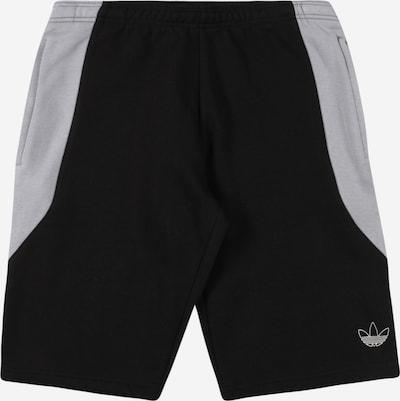 Pantaloni ADIDAS ORIGINALS di colore grigio / nero, Visualizzazione prodotti