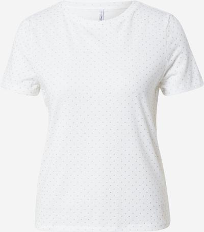 Tricou 'BELLA' ONLY pe bej / offwhite, Vizualizare produs