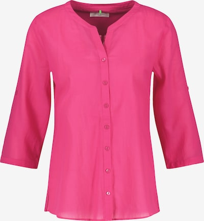 GERRY WEBER 3/4 Arm Bluse in dunkelpink, Produktansicht