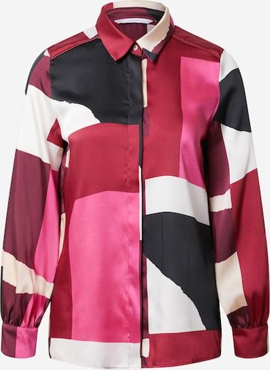 Camicia da donna 'Bengala' iBlues di colore crema / rosa / bordeaux / nero, Visualizzazione prodotti