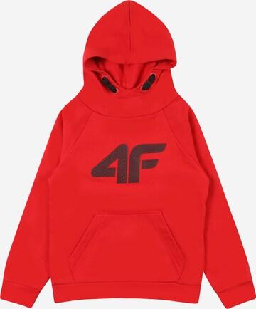 4F Sportsweatshirt in Rot